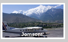 Jomsom Airport, Pokhara to Jomsom Flight, Air Ticket